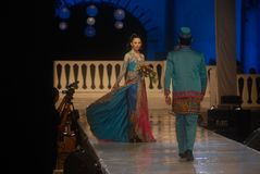 INDONESIAN FASHION INDUSTRY BOOM Royalty Free Stock Photo