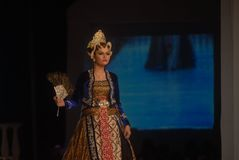 INDONESIAN FASHION INDUSTRY BOOM Royalty Free Stock Images
