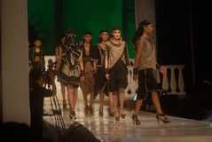 INDONESIAN FASHION INDUSTRY BOOM Royalty Free Stock Image