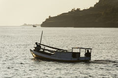 Indonesian Fishermen Royalty Free Stock Photos