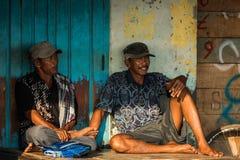 Indonesian fishermen Royalty Free Stock Images