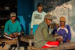 Indonesian fishermen Royalty Free Stock Photography