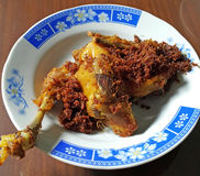 INDONESIAN FOOD AYAM GORENG Stock Image