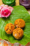 Indonesian Food Mangkok Cake Royalty Free Stock Photos