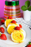 Indonesian Food Roll Jelly Ager Gulung Stock Images