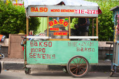 Indonesian food stall Royalty Free Stock Images