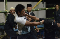 INDONESIAN FREE FIGHT Royalty Free Stock Images