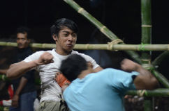 INDONESIAN FREE FIGHT Stock Photos