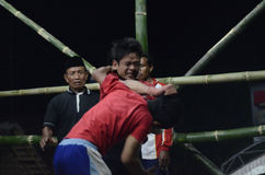 INDONESIAN FREE FIGHT Stock Photography