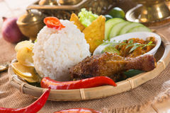 Indonesian fried chicken Royalty Free Stock Image