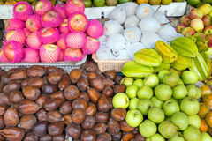 Indonesian fruits Stock Photos