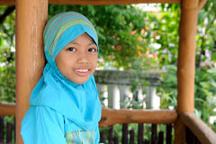 Indonesian Girl Royalty Free Stock Image