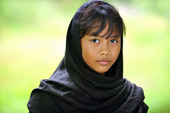 Indonesian Girl Stock Photo