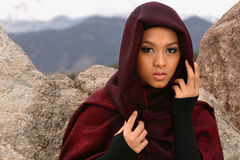 Indonesian Girl Royalty Free Stock Photos