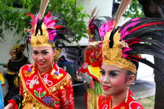Indonesian girls Stock Images
