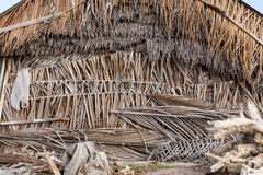 Indonesian house - shack on beach Royalty Free Stock Image