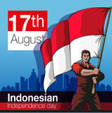 Indonesian independence day Stock Photo