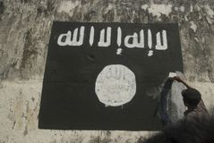 INDONESIAN INTELLIGENCE TO WATCH EXTREMIST GROUP ON ISLAMIC STATE ISSUES Stock Photo