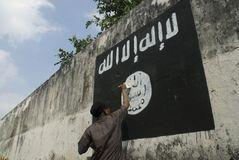 INDONESIAN INTELLIGENCE TO WATCH EXTREMIST GROUP ON ISLAMIC STATE ISSUES Stock Photography