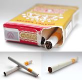 Indonesian Kretek Cigarettes Stock Photography