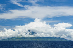 Indonesian landscape Royalty Free Stock Images