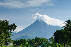 Indonesian landscape Stock Image
