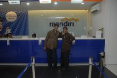 INDONESIAN LARGEST BANK MANDIRI Royalty Free Stock Image