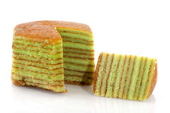 Indonesian layer cake Stock Image