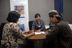 INDONESIAN MANDIRI BANK BUSINESS PLAN Stock Image
