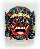 Indonesian Mask. Colorful Indonesian mask on white background Stock Photography