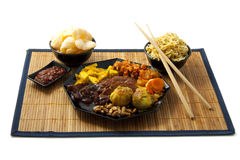 Indonesian meal Stock Images