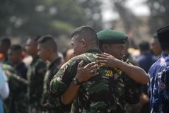 INDONESIAN MILITARY TO ADD NEW BORDER POSTS Royalty Free Stock Photography