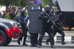INDONESIAN MILITARY TO FIGHT ISLAMIC STATE EXTERNAL THREATS Stock Images