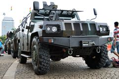 Indonesian military vehicle Stock Images