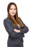 Indonesian mixed business woman Royalty Free Stock Photos