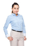 Indonesian mixed race business woman Stock Images