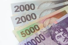 Indonesian money / rupiah. / finance concept Royalty Free Stock Images