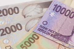 Indonesian money / rupiah. / finance concept Stock Images