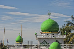Indonesian mosque dome Royalty Free Stock Images