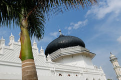 Indonesian muslim architecture,  Banda Aceh Royalty Free Stock Image