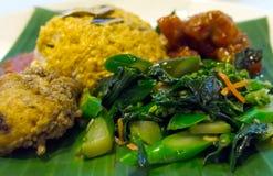 Indonesian Nasi Padang Stock Images