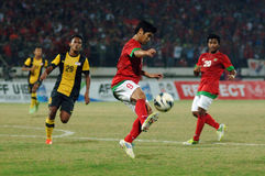 The Indonesian National Team U-19 Stock Image