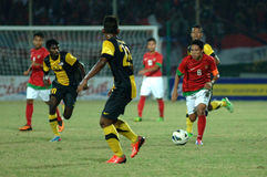 The Indonesian National Team U-19 Royalty Free Stock Photography