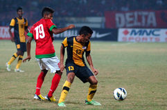 The Indonesian National Team U-19 Stock Photography