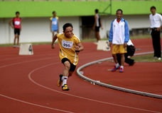 INDONESIAN PARALYMPIC Stock Photo