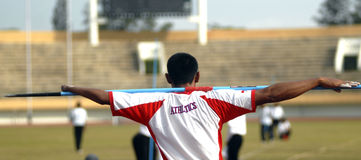 INDONESIAN PARALYMPIC SPORTS TRAINING Royalty Free Stock Images