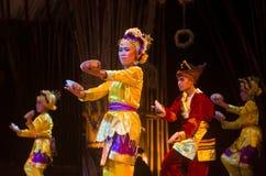 INDONESIAN PLATE DANCE Stock Photos