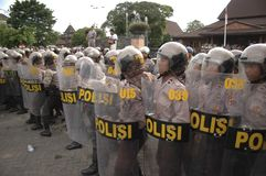 INDONESIAN POLICE ORGANIZATION Stock Images