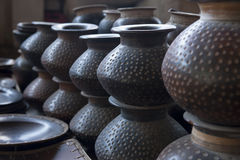Indonesian Pottery Royalty Free Stock Images