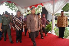 INDONESIAN PRESIDENT YUDHOYONO Stock Images